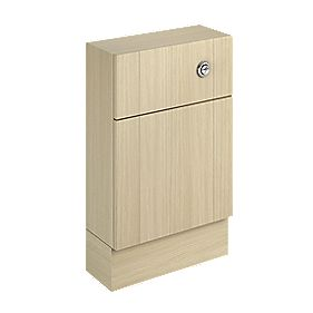 500mm Slimline WC Unit & Cistern Oak Shaker Oak