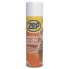 Zep Commercial Contractors Solvent Amp Degreaser 500ml