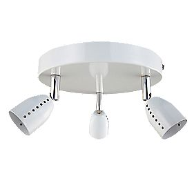Luno 3-Light Spotlight White