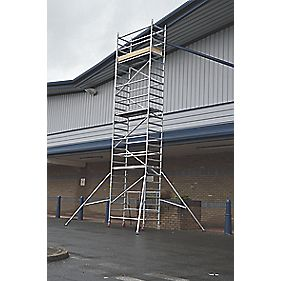 Lyte LIFT6.1 Folding Work Tower System 6.1m Platform