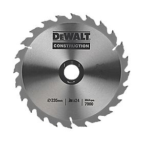 DeWalt DT1156-QZ Circular Saw Blade Portable 235 x 30mm 24T