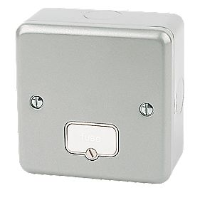 MK 13A Unswitched Fused Connection Unit Metal-Clad