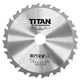Titan TCT Circular Saw Blade 30T 165x10/16mm