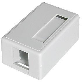 Philex Single Keystone Surface Mount Box