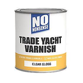 No Nonsense Yacht Varnish Gloss Clear 750ml Yacht Varnish