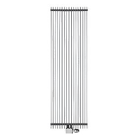 Ximax Atlas Vertical Designer Radiator Anthracite 1800 x 410mm 5119BTU