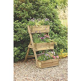 Forest Cascade Planter Natural x x