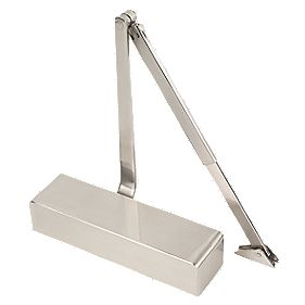 Eclipse 28932 Overhead Door Closer Satin Chrome