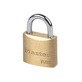 Master Lock Brass Padlock 30mm