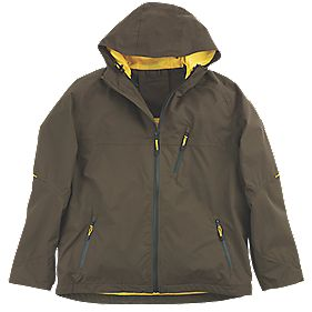 "Mascot Aveiro Waterproof Jacket Dark Olive XX Large 45½"" Chest"