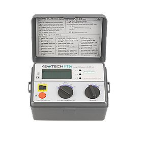 Kewtech KT56 Digital RCD Tester