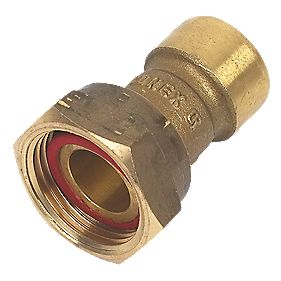 Conex Push-Fit 240G Straight Tap Connector 15X¾""