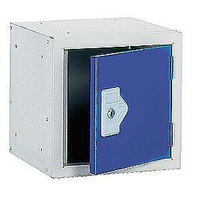 Security Cube Locker 300mm Blue