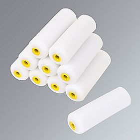 "No Nonsense High Density Mini Roller Sleeves Gloss 4"" Pk10"
