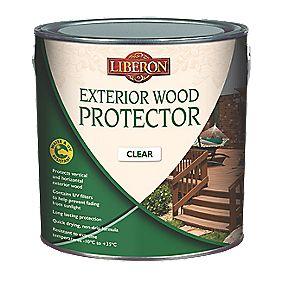 Liberon Exterior Wood Protector Clear 2.5Ltr