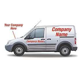 Made-To-Order Vehicle Advertising Livery 300 x 400mm