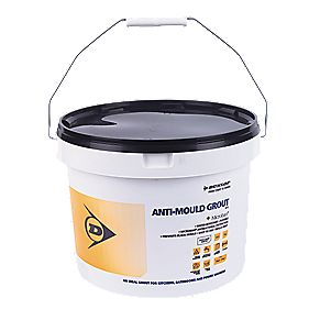 Dunlop Anti-Mould Grout With Microban White 5kg
