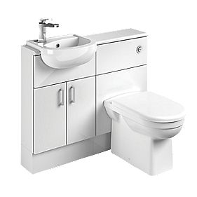 1000mm Vanity Unit White