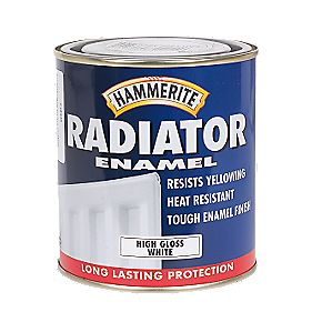 Hammerite Radiator Paint White 500ml