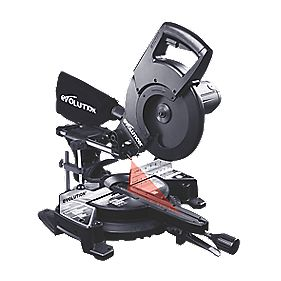 Evolution Stealth Rage 255mm Sliding Mitre Saw 110V