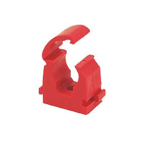 Talon Red Hinge Clip 15mm Pack of 20