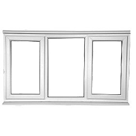 SFS Left & Right-Hand Opening Double Glazed uPVC Window Clear 1770 x 1040mm