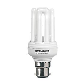 Sylvania Mini-Lynx Fast Start Stick Compact Fluorescent Lamp BC 900Lm 15W