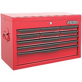9-Drawer Heavy Duty Tool Chest with Ball Bearing Slides