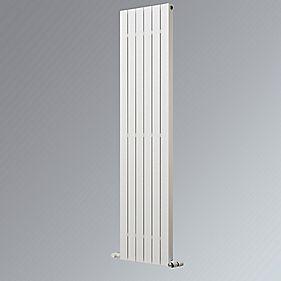 Ximax Oceanus Deluxe Vertical Designer Radiator White 1800 x 595mm 4108BTU
