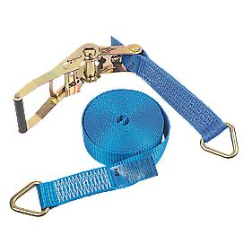 Ratchet Strap with Delta Rings 8m x 50mm 8 Piece Set