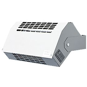 Winterwarm 350mm Hot Air Curtain Wall Hung Heater 2.25kW
