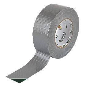 Duck Original Cloth Tape 50 Mesh Silver 50mm x 50m