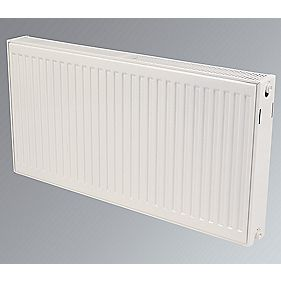 Kudox Double Convector Radiator White H: 500 x W: 2400mm