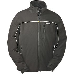 CAT C440 Soft Shell Jacket Black M