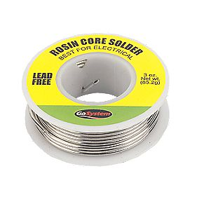 Lead Free Resin Core Solder
