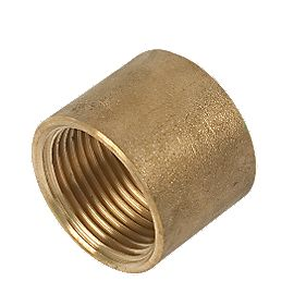 "Comap Brass Socket 1"" F x F Pack of 2"