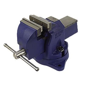 Irwin Record Mechanics Vice with Swivel Base 4""