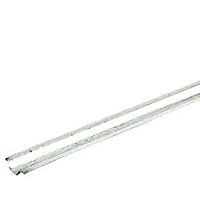 Tower Galvanised Steel Channel 12mm x 2m (20m) Pack of 10