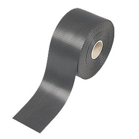 B and Q Damp-Proof Course Black 100mm x 30m