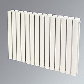 Reina Neva Double Panel Designer Radiator White 550 x 413mm 2356BTU