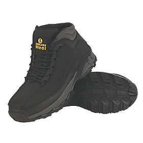 Amblers Steel Ladies Safety Boots Black Size 8