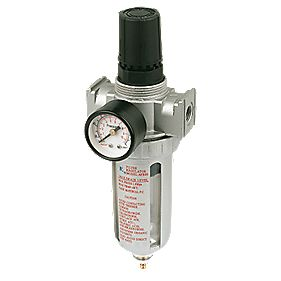 "Air Filter Regulator ½"" BSP Inlet / Outlet Ports"