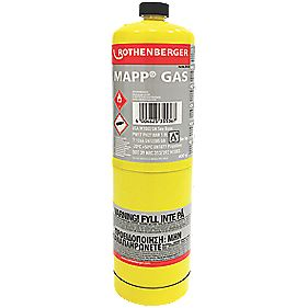 Rothenberger Disposable MAPP/Pro Gas Cylinder 400g