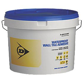 Dunlop Waterproof Wall Tile Adhesive White 7.5kg