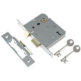 "Century 3-Lever Mortice Sashlock Chrome Plated "" / 64mm"
