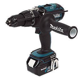 Makita BHP451RFE 18V 3Ah Li-Ion Cordless Combi Drill LXT