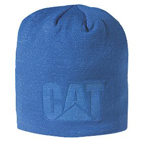 CAT C1128097 Trademerk Knit Beanie Blue