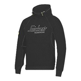"Snickers Logo Hoodie Black Medium 39"" Chest"
