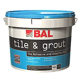 BAL Tile & Grout Brilliant White 5Ltr