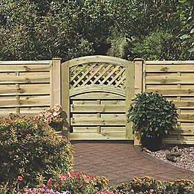 Grange Fencing Elite St Melior Gate 900 x 985mm